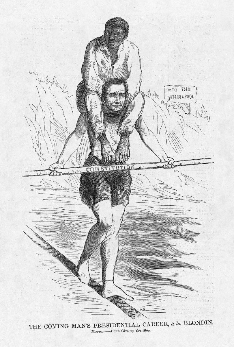 Harpweek elections 1860 medium cartoons click to see a large version of this cartoon sciox Gallery