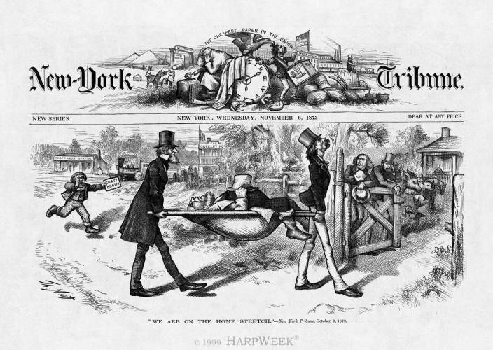 HarpWeek | Elections | 1872 Medium Cartoons